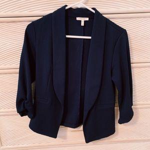 3/4 sleeve blazer